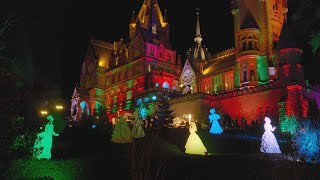 Weihnachtsmarkt 2017 auf Schloss Drachenburg (Drachenfels) in UHD (4K) HDR (Vers. 2)