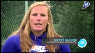 Atletismo de alto rendimiento: Braian Toledo, Germán Lauro y Jennifer Dahlgren