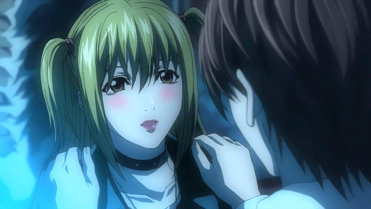 Light deja enamorada a Misa | Death Note