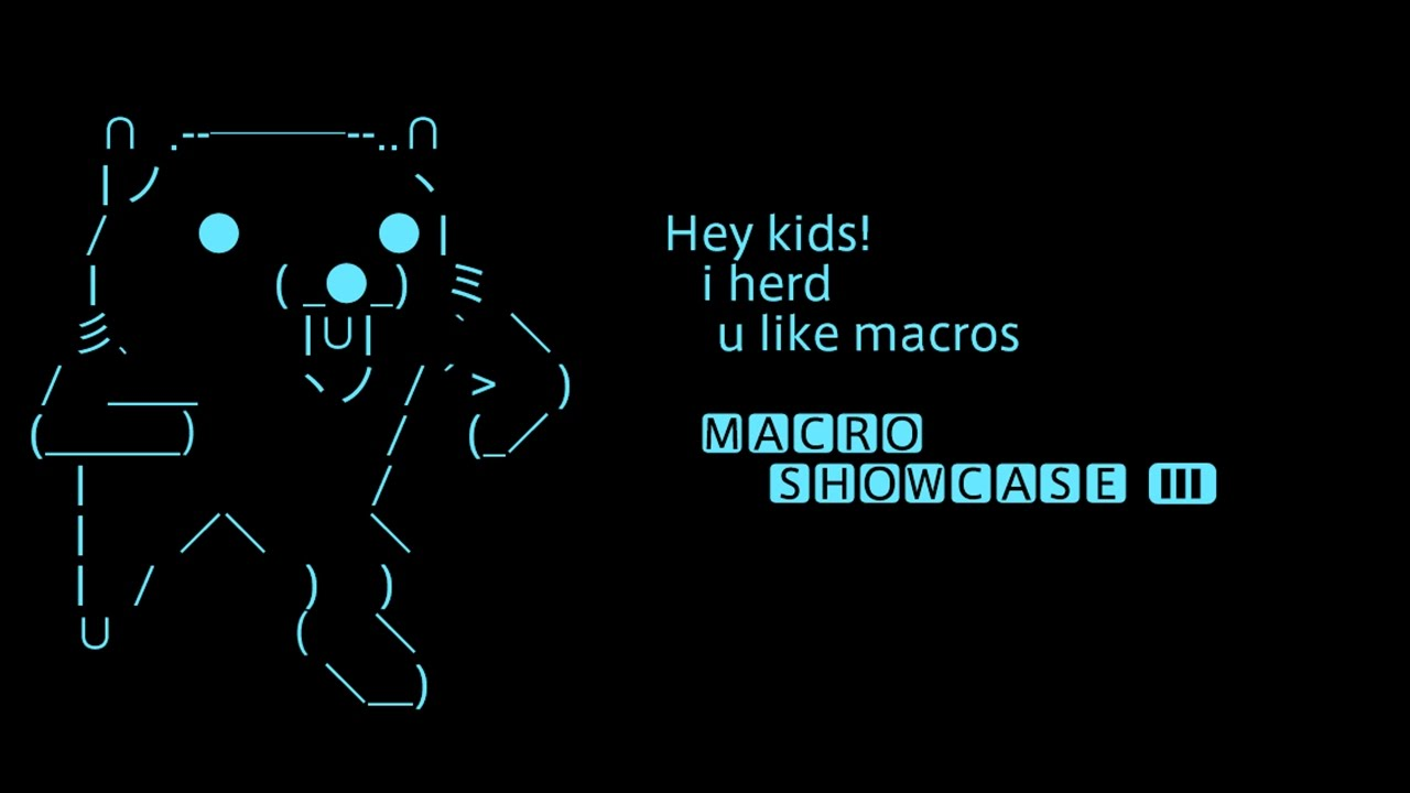 FFXIV Chat Macro Showcase 3