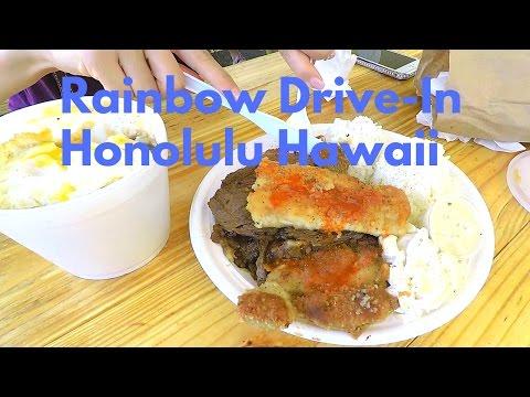 Rainbow Drive-In Honolulu Hawaii