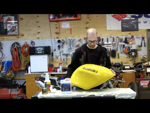 How to Seal a Motorcycle Fuel Tank with KBS Coatings Tank Sealer Kit by JP Cycles
