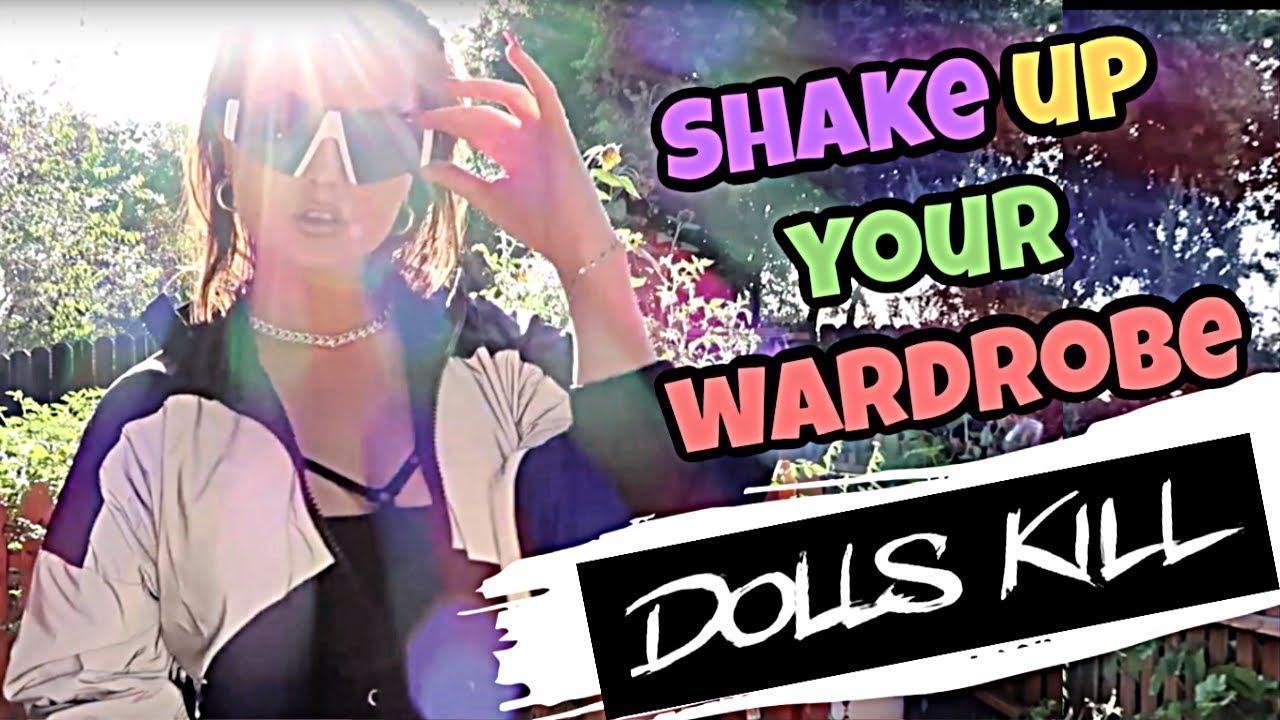 DOLLSKILL lookbook HAUL | fashion haul TRENDIEST online store | Back to school OUTFITS shopping 9