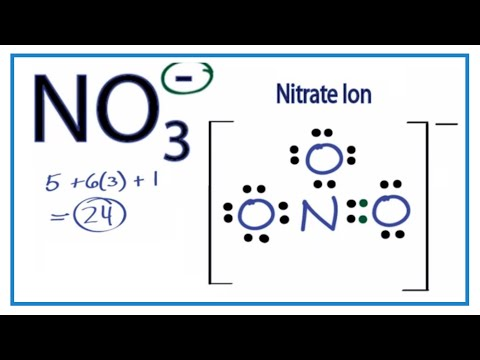 NO3- Lewis Structure: How to Draw the Lewis Structure for NO3-