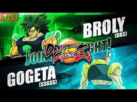 🔴TEST BROLY & GOGETA SSGSS - DRAGON BALL FighterZ