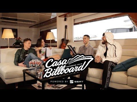 Mahmood & Guè Pequeno - Casa Billboard @ Sanremo 2019