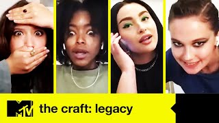 The Craft: Legacy Cast Play Spooky Movie Charades | MTV Movies
