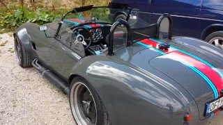 AC Cobra -  external, inside view