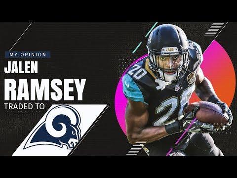 Jacksonville Jagaurs Trade Jalen Ramsey to Los Angeles Rams!