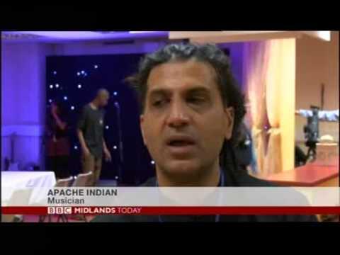 Birmingham: Reggae star Apache Indian opens Handsworth music academy
