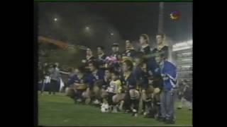 Recibimiento de Boca vs U.de Chile | AMISTOSO 1996
