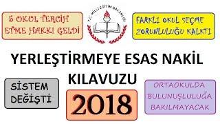 Lise Nakil İşlemleri 2018