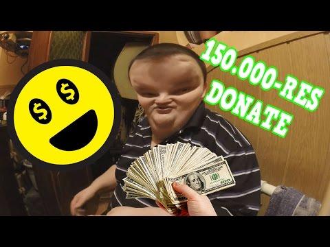 Molnár Krisztián és a 150 000-ES DONATE!
