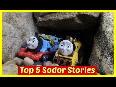 Thomas and Friends Accidents Happen Toy Trains Thomas the Tank Engine Episodes Compilation Top 5