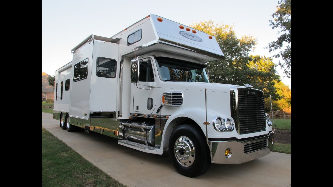 SOLD 2007 Freightliner Coronado, Renegade Luxury toter, detroit 515hp, for  sale in Texas