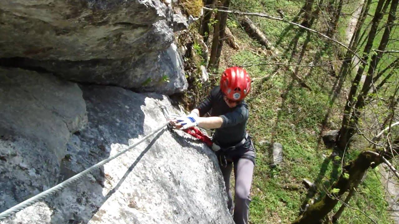 Klettersteig Weiße Gams : Klettersteig weiße gams in weißbach bei lofer am