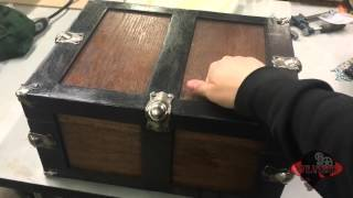 Knock box trunk for Escape Room