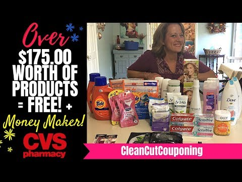 CVS COUPONING LOOT (9/30-10/06) FREE! + HUGE MONEY MAKERS! CleanCutCouponing