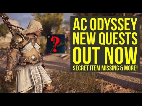 Assassin's Creed Odyssey DLC NEW QUEST, Secret Missing Item & Way More (AC Odyssey DLC) thumbnail