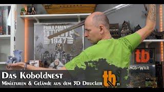Das Koboldnest - Miniaturen & Gelände aus dem 3D Resindrucker
