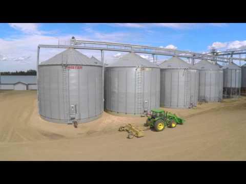 Alberta Farm Aerial Photos and Video