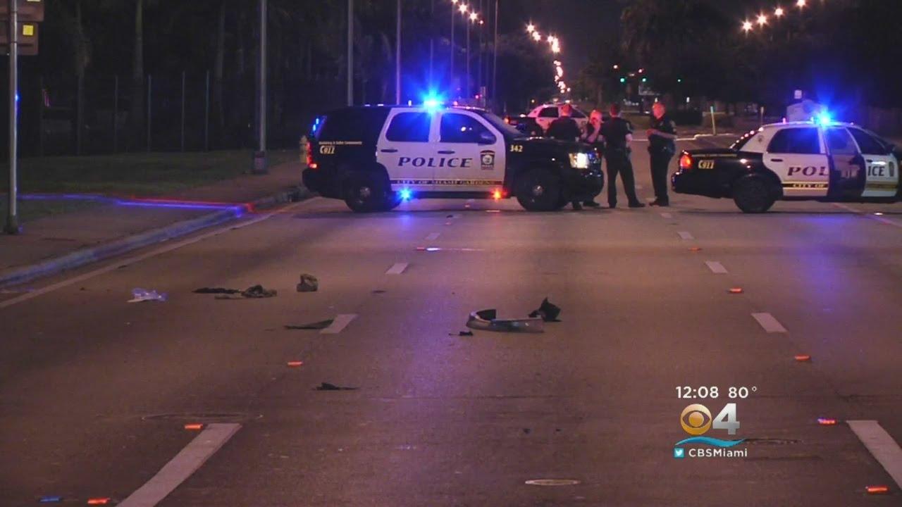 Pedestrian Hit In Miami Gardens Driver Takes Off Youtube