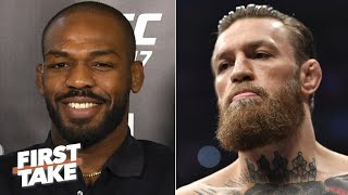 Jon Jones talks Conor McGregor's 'box office' persona, UFC 247 fight vs. Dominick Reyes | First Take