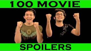 Spoiler Alert! - 100 Movie Spoilers in 5 Minutes - (Movie Endings Ruined)