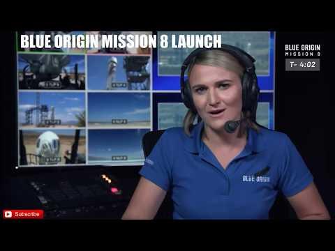 Blue Origin Mission Space Launch - LIVE