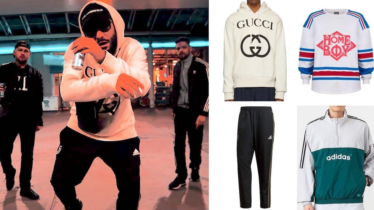 Samra & Capital Bra Zombie OUTFIT: Adidas Trainingsanzug