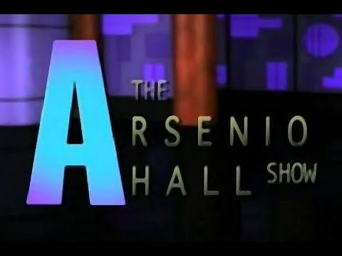 """Simple Minds - """"The Arsenio Hall Show"""" 1991"""
