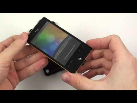 HTC Gratia - design a konstrukce