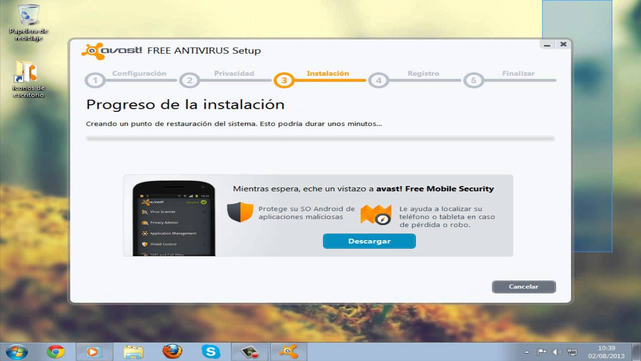 descargar avast free antivirus con licencia