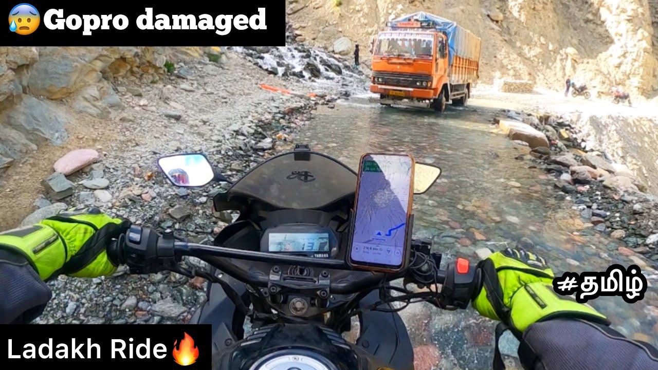 😰Gopro damaged   Episode - 16   Ladakh Ride🔥  Manali to sarchu   Tamil