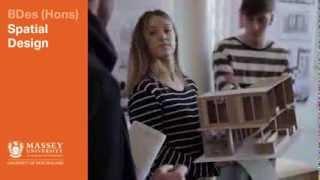 BDes at Massey - spatial design | Massey University