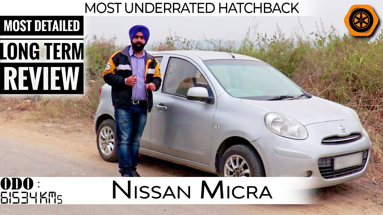 Download Micra Petrol 2010   Detailed Review   Long Term 60K KMs   Small yet Fun to Drive   Spare Wheel