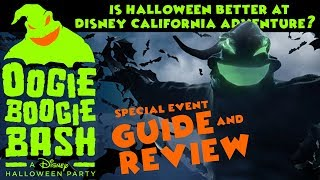 Oogie Boogie Bash Guide And Review - Is Halloween Better At Disney California Adventure?