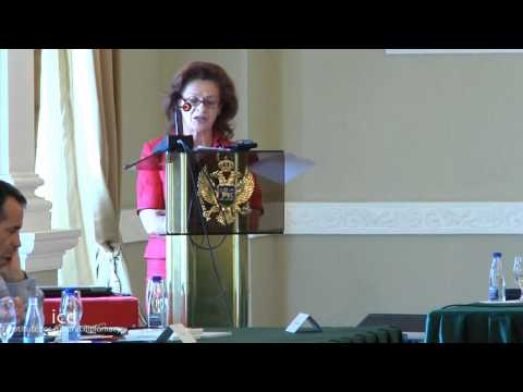 Iulia-Cristina Tarcea, Vice President of the High Court of Cassation and Justice Romania