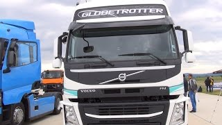 Volvo FM 420 Globetrotter XLX Tractor Truck Exterior and Interior in 3D 4K UHD