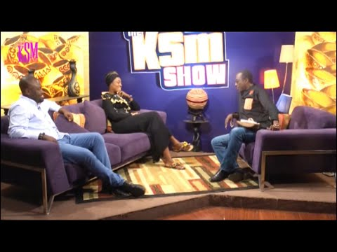 KSM Show- Talented & amazing designers, Matilda and Yaw hang out with KSM