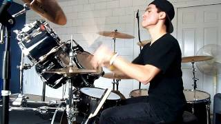 Slayer-Angel Of Death Drum Cover (DRUMS ONLY)