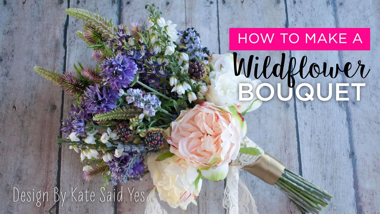 How to make a bouquet wildflowers youtube how to make a bouquet wildflowers izmirmasajfo