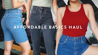 NEW YEAR NEW BASICS HAUL ft. cotton on