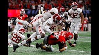 Ronnie Harrison (Alabama S) vs Georgia - 2018 National Championship
