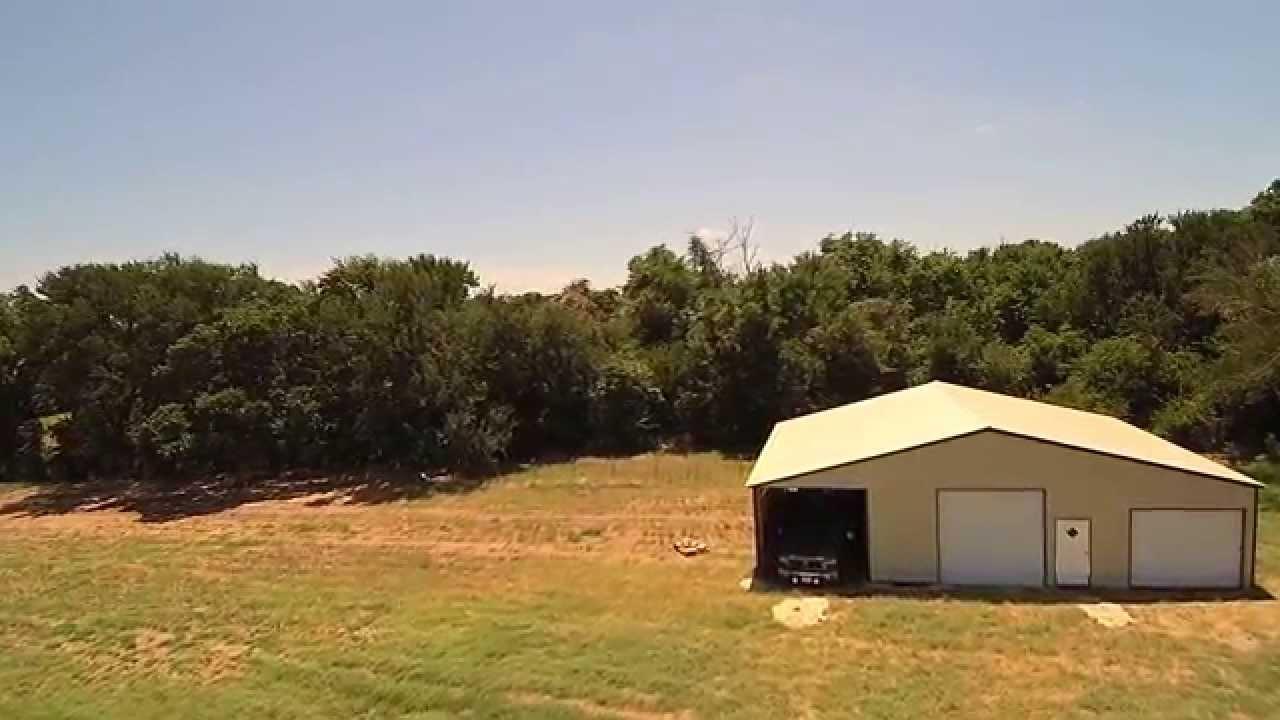 Viewing New Carolina Carports Storage Building With Typhoon Q500+ Drone