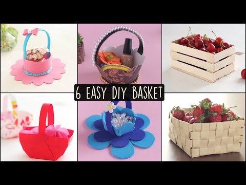 6 Easy DIY Baskets | Basket Making