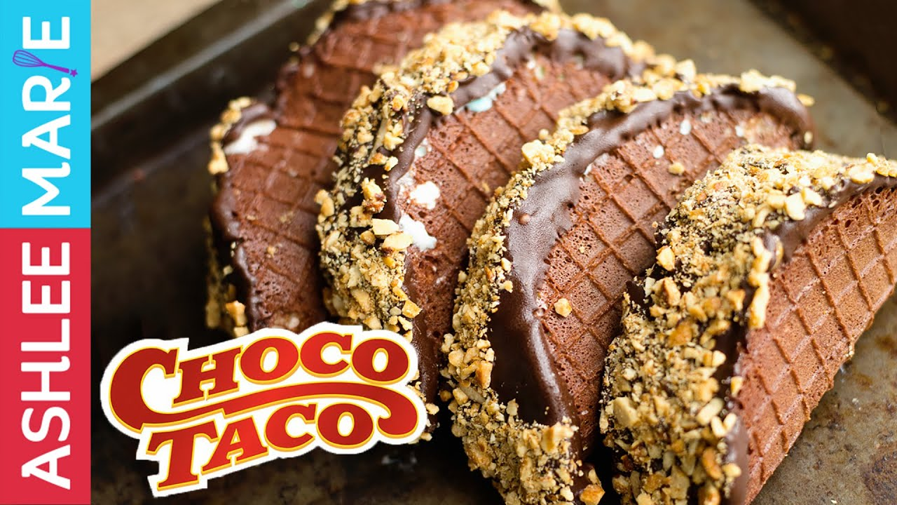 Homemade Choco Taco tutorial - YouTube