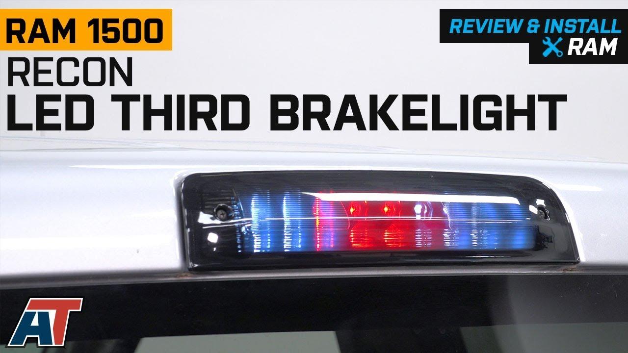 2009 2018 Ram Recon Smoked Led Third Brake Light Review Install