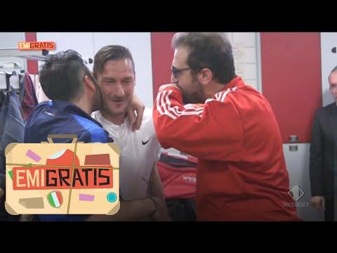 Emigratis, Ultima Puntata - Pio E Amedeo A Scrocco Da Totti