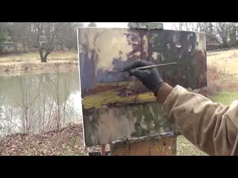 Kyle Buckland Plein Air Landscape Oil Painting Demonstration Art Demo